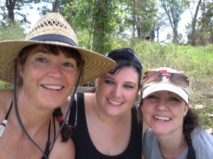 Me with two of the Original Dirty Girls last summer!