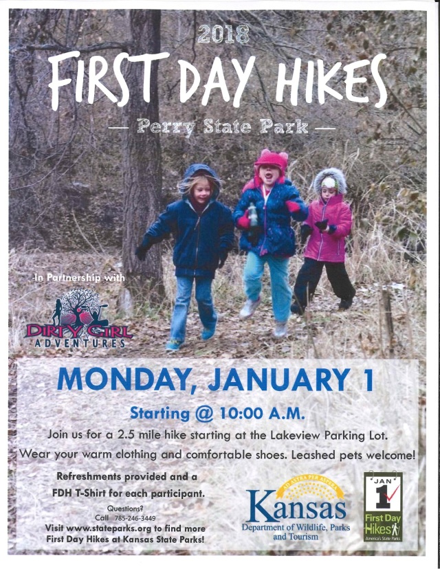 2018 First Day Hike Flyer